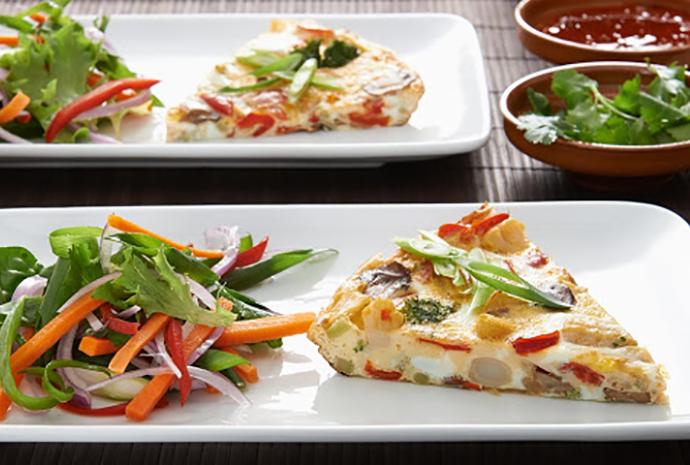 Simplot Asian Style Frittata