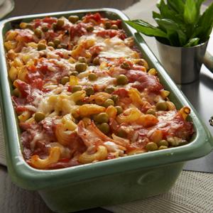 Simplot cheesy pea macaroni