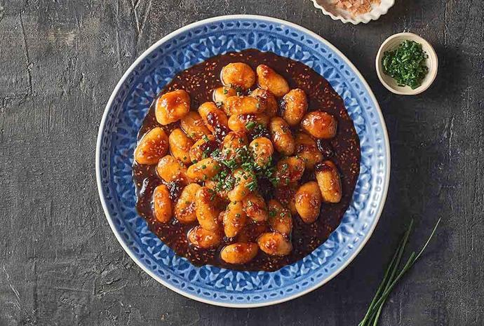 Unilever sticky spiced gnocchi