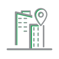 Distribution Center Grey Icon